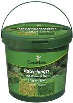 GartenMeister gazonmeststof met mosvernietiger, 7,5 kg voor ca. 180 kg.