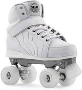 Rio Roller Rolschaatsen Kicks Quads Unisex Wit Maat 42