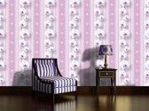 Fotobehang Bloemen, Orchidee | Roze | 416x254