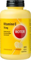 Roter Vitamine C Citroensmaak- 800 Kauwtabletten - Vitaminen