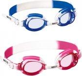 Zwembril voor kinderen  Blauw/wit