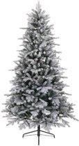 Everlands Vermont Spruce Frosted kunstkerstboom 210 cm - zonder verlichting