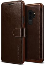 VRS Design Layered Dandy leather case Samsung Galaxy S9 Plus - Bruin