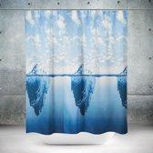 Roomture - douchegordijn - Iceberg- 180 x 200