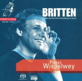 Britten: Suites for Violoncello Solo / Pieter Wispelwey -SACD- (Hybride/Stereo/5.1)