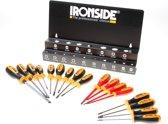 Ironside 120555 Schroevendraaierset - 17 delig