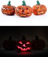 Pompoen met licht assorti Halloween tip!