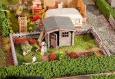Faller - Volkstuin met klein tuinhuisje