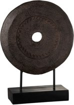 J-Line Ornament Cirkel op Voet L 47.3 x 35.4 x 14.9