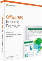 Microsoft Office 365 Business Premium (abonnement de douze mois) - Frans
