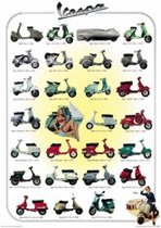 Poster-Scooters-Vespa-collage-68x98cm