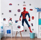 Walltastic Spiderman XXL Muursticker - 1.20 m hoog - kinderen