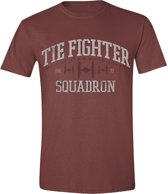 Star Wars - Tie Fighter Squadron T-Shirt - Rood - M