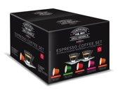 Corsini Cadeau Espresso Coffee Set met 2 espresso kopjes en schotels