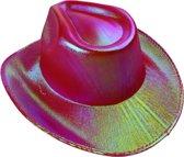 Lg-imports Cowboyhoed Glans Unisex One Size Rood