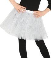 Petticoat/tutu rokje wit 31 cm voor meisjes - Tule onderrokjes wit voor kinderen