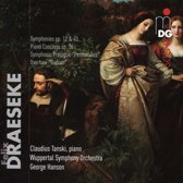Felix Draeseke: Orchestral Works; Piano Concerto