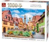 Afbeelding van Puzzel 1000 Stukjes ROTHENBURG. FRANCONIA BAVARIA, GERMANY