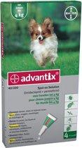 Advantix 40/200 Anti vlooienmiddel en tekenmiddel Hond -  4 pipetten