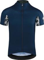 assos Mille GT Jersey korte mouwen Heren, caleum blue Maat XL