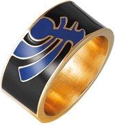 Pierre Cardin Steel - PCRG10008D190 - Ring - Roestvrij staal - goudkleurig
