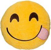 Emoji kussen/knuffel - foodie - 30*30 cm