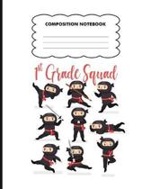 1st grade Squad Composition Notebook