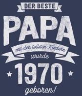 Der Beste Papa wurde 1970 geboren: Wochenkalender 2020 mit Jahres- und Monats�bersicht und Tracking von Gewohnheiten - Terminplaner - ca. Din A5