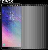 Let op type!! 10 stuks 0 26 mm 9H 2.5D getemperd glas Film voor Galaxy A6 (2018)