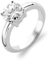 TI SENTO Milano Ring 1464ZI - Maat 60 (19 mm) - Gerhodineerd Sterling Zilver