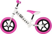 Broozzer Extreme Rider loopfiets 12 inch Roze