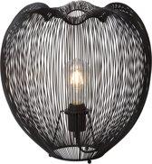 Lucide WIRIO - Tafellamp - Ø 35 cm - E27 - Zwart