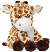 Warmteknuffel lavendel - tarwe Giraf