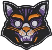 Cat mask patch - Sourpuss