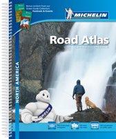 Michelin Straßenatlas Nordamerika mit Spiralbindung