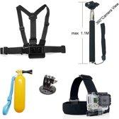 5 in 1 Accessories Kit voor GoPro Hero 4/3+/3/2/1 en Actioncam