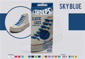 Shoeps Elastische Veters Skyblue