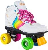 Rookie Rolschaatsen - Forever Rainbow - Kinderen - Maat 37 - Wit/Multi