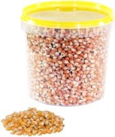 Popcornmais 1,5 KG in afsluitbaar emmertje