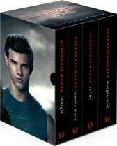 Boek cover Twilight saga filmbox - ya-editie van Stephenie Meyer