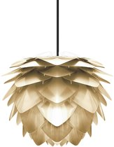 Umage Silvia hanglamp goud - Mini Ø 32 cm + Koordset zwart