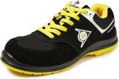 Dunlop Shoes Flying Sword lage veiligheidssneaker S3 zwart/geel 46