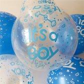 Ballonnen Babyshower - Jongen - 10 stuks