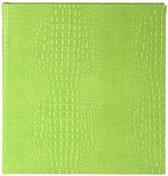 GOLDBUCH GOL-48804 Gastenboek CROCO appel groen 23x25 cm