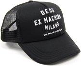 DEUS Trucker cap Milano Address Trucker - Black