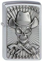 Aansteker Zippo Cowboy Skull