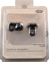 "PRO-Mounts Camera Adapter Bevestiging om action cams en camera's met 1/4"" schroefdraad te monteren op GoPro mounts"