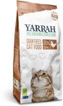 Yarrah Cat Adult - Graanvrij - Kip/Vis - Kattenvoer - 2,4 kg