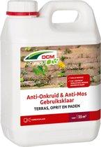 Dcm Anti-Onkruid Anti-Mos Terras Gebruiksklaar - Algen- Mosbestrijding - 2.5 l