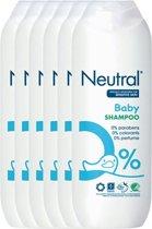 Neutral Babyshampoo - Parfumvrij - 6 x 250 ml - Voordeelverpakking